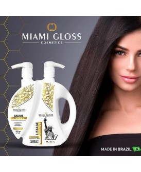 Lissage miami gloss Indien